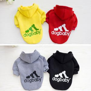 Cute Warm Pet Clothes Puppy Dog Hoodies Coat Outdoor Sweatshirt Winter Cold Weather Clothing