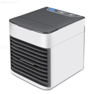 Mini Air Conditioner Fan Portable USB Desktop Air Cooler Humidifier For Office Home