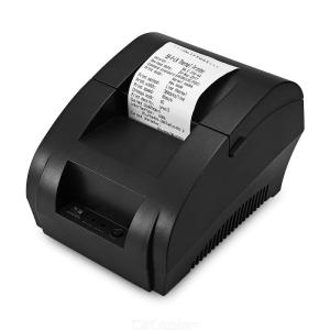 ZJ - 5890K Portable 58mm USB POS Receipt Thermal Printer - EU Plug