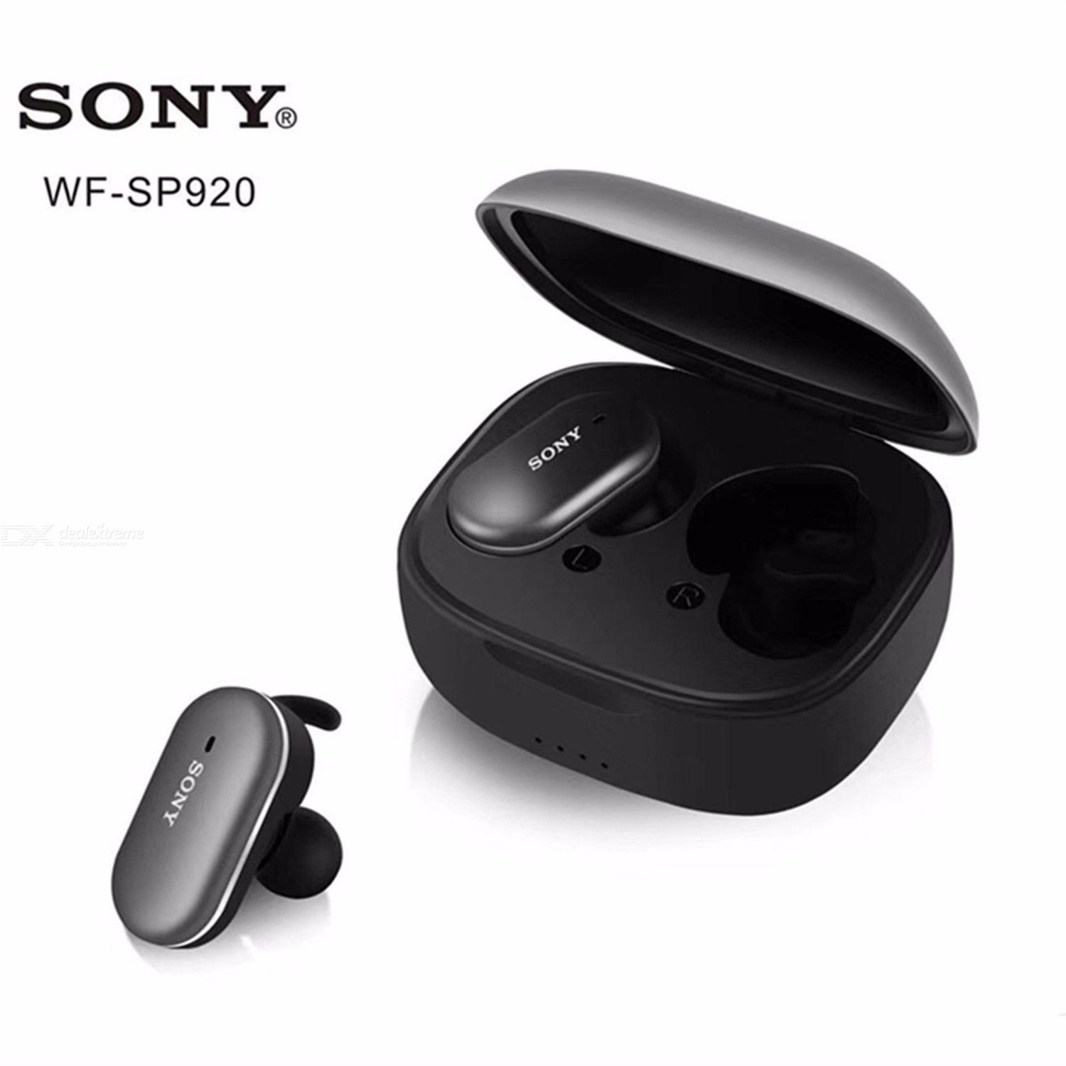 Sony Wf Sp920 True Wireless Bluetooth Noise Reduction Headset Earphone With Charging Box Free Shipping Dealextreme