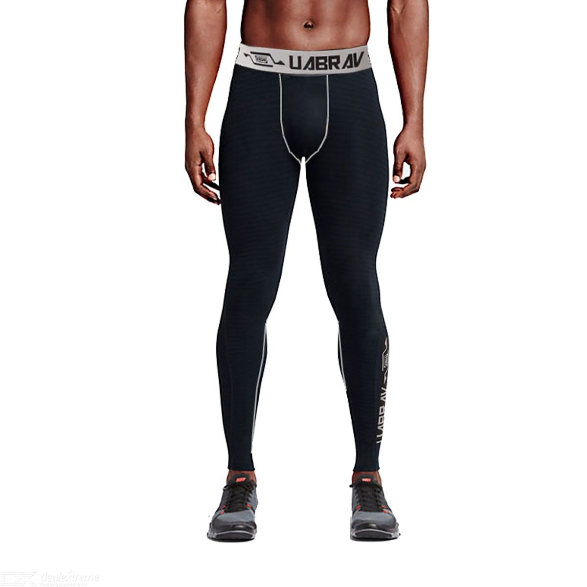 Men Compression Cool Dry Sports Tights Pants Baselayer Running Leggings
