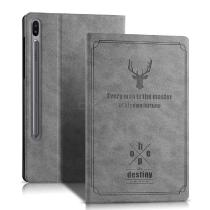 CHUMDIY-Elk-Pattern-Protective-PU-PC-Cover-Case-with-Holder-Stand-for-Samsung-Galaxy-Tab-S6-T860-T865