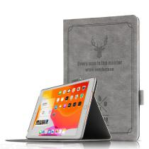 CHUMDIY-Elk-Pattern-Protective-PU-PC-Cover-Case-with-Holder-Stand-for-New-iPad-2019-102-inch