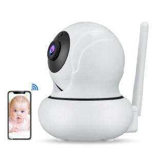 Wanscam K21 2MP 1080P HD 3.6mm Wireless Baby Monitor IP Camera, Indoor 4X Zoom Onvif Night Vision P2P H.264 Webcam Support 128GB