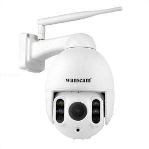 Wanscam K64A 1080P PTZ IP Camera with 16X Zoom FHD Face Detection, Auto Tracking Dome WiFi Wireless Two-way Audio, Night Vision