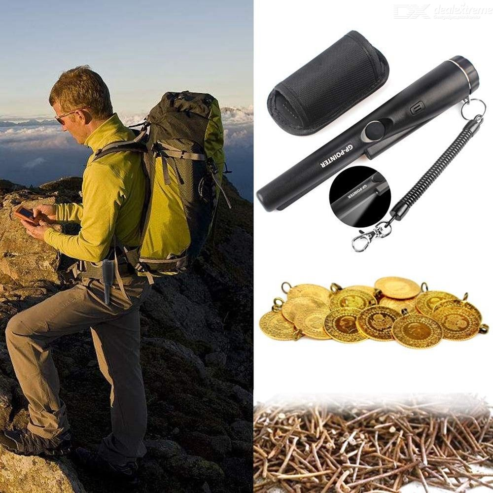 Handheld Metal Detector Portable High Accuracy Security Wand With LED