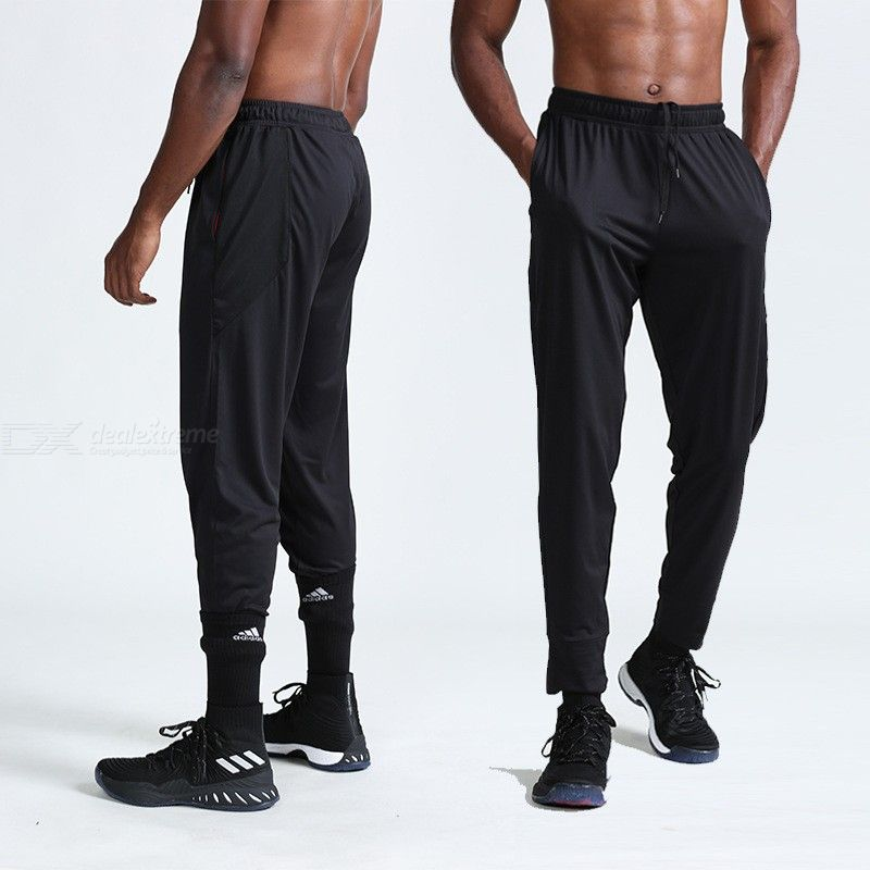 Mens Loose Running Pants Breathable Training Trousers For Outdoor Sports