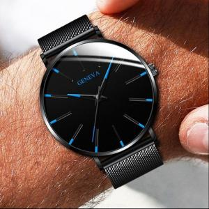 Mens Business Dress Watch Luxury Stainless Steel Sports Watch