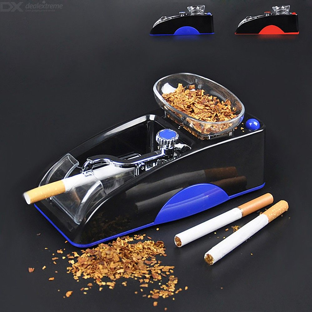 Electric Cigarette Machine Easy Automatic Making Rolling Machine Tobacco Electronic Injector Maker Roller - EU Plug