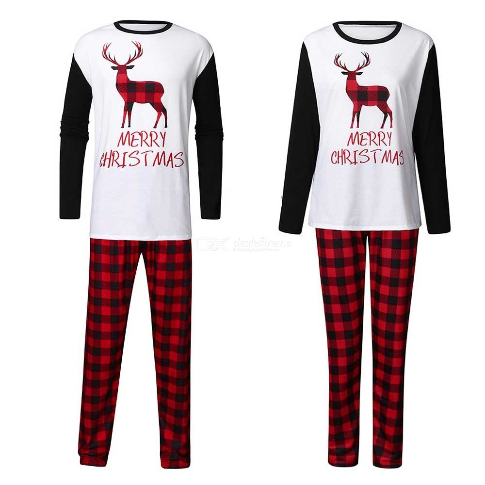 Nightwear | Sleepwear | Christmas | Pajamas | Family | Pajama | Cotton | Sleeve | Print | Long | Set