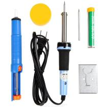 SANTO-6Pc-40W-Electric-Soldering-Iron-Kit-with-Solder-Wire-Tin-Suction-Tool-More