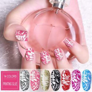 Multicolor Print Nail Stamping Gel Polish 14 Colors Available