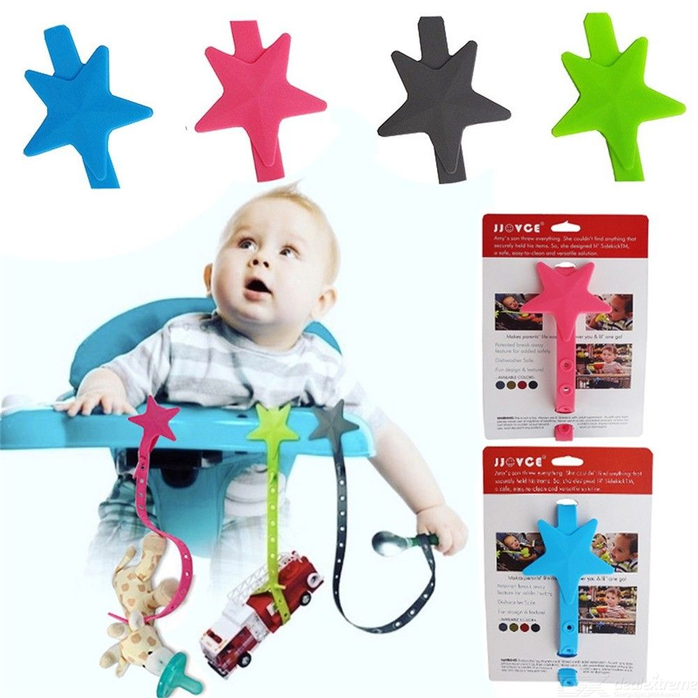 Baby Pacifier Clips Baby Teething Toys Holder - 49.5cm