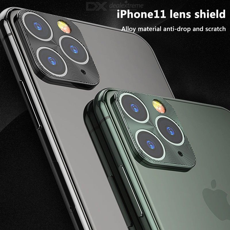 Clear Tempered Glass Ultra Thin Transparent Anti-Scratch Camera Lens Protector For IPhone 11 / 11 Pro / 11 Pro Max