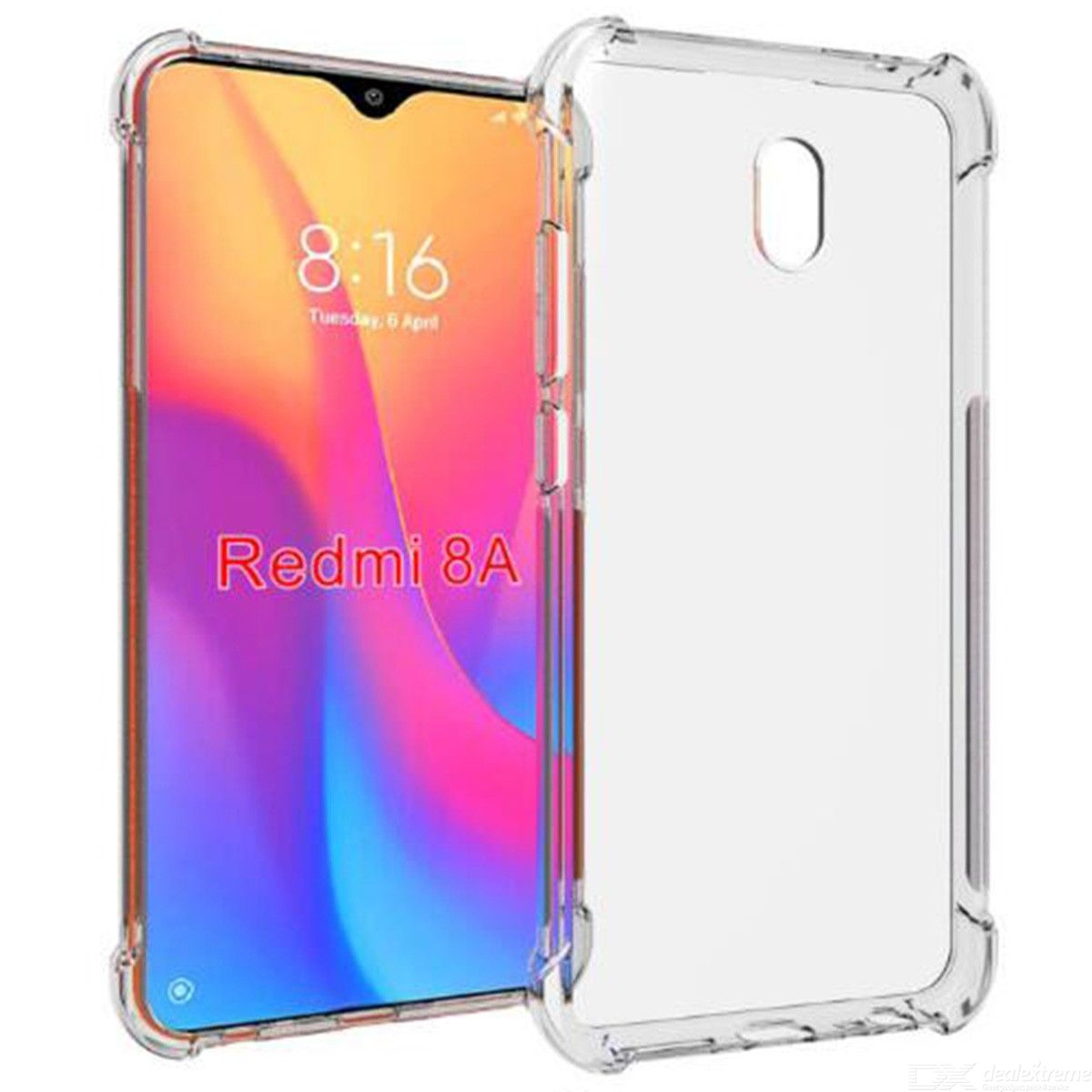 ASLING Four-corner Airbag Phone Case Protective Shell for Xiaomi Redmi 8A