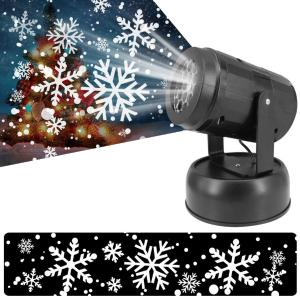 LED Snowfall Projector Light Christmas Snowflake Projection Lamp For Party Halloween Holiday