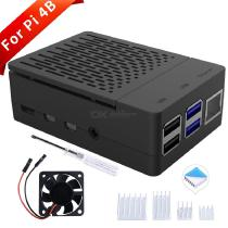 ABS-Case-with-Cooling-Fan-Heatsink-Simple-Removable-Top-Cover-for-Raspberry-Pi-4B(no-pi)
