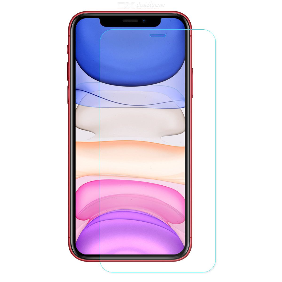 Tempered Glass 0.26mm 9H 2.5D Arc Edge Crystal Clear Tempered Glass Screen Protector for iPhone 11/XR