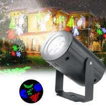 Christmas-LED-Projector-Light-Outdoor-RGB-Rotating-Projection-Lamp-With-12-Slides