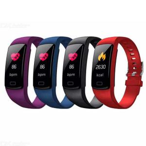 GTcoupe Smart Bracelet Y9 Sport Wristband Heart Rate Monitor Watch Activity Fitness Tracker Smart Band for IOS PK Mi Band 3
