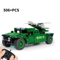 Electric-24G-Remote-Control-Building-Block-Vehicle-Military-Model-Toy-Educational-Toys-for-Children