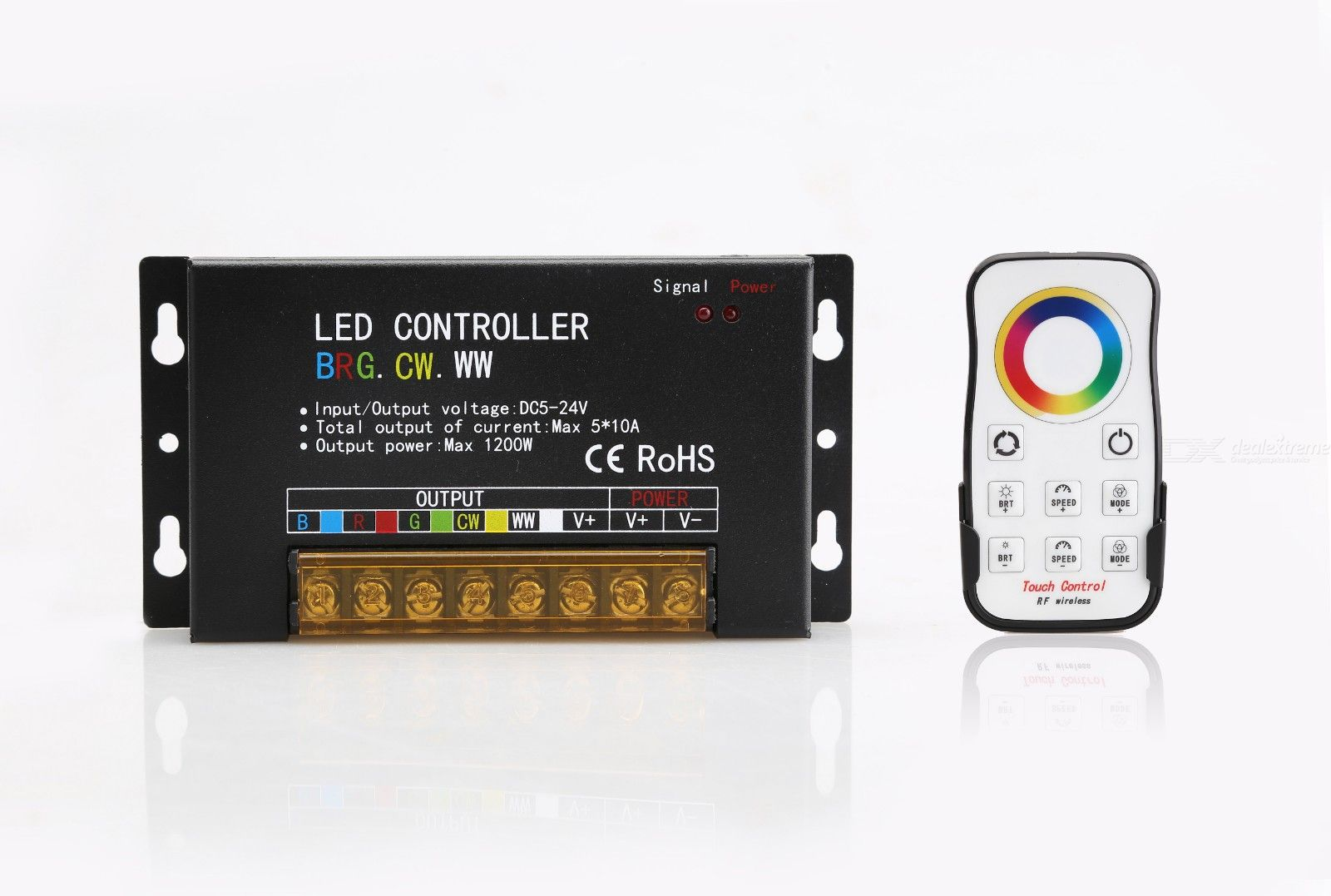 LED-BRG-F5 LED Controller for LED Strip Light RGB / CW / WW - from $42.67