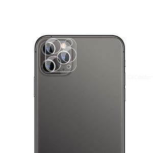QULLOO Camera Lens Protector for iPhone 11 Pro Max / iPhone 11 Pro Clear Crystal Tempered Glass