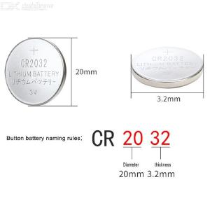 20PCS Cr2032 Button Battery 3V Lithium Coin Cell Battery