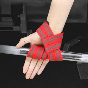 1 Pair Wrist Support Belt Anti-slip Sports Safety For Weightlifting Fitness
