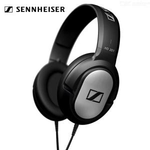 SENNHEISER HD201 3.5mm Wired Headphone Stereo Music Headset For Mobile Phone Computer