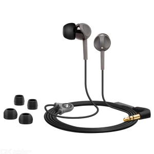 Sennheiser CX180 StreetII In Ear Stereo Earphones 3.5mm Wired Headset Sport Running HIFI Headphone - Black