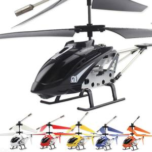 Mini RC Helicopter 3.5 Channel Metal Remote Control Airplane