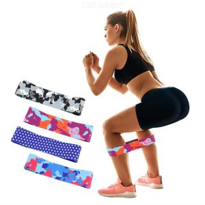 Soft Non Slip Hip Fitness Bands For Booty Resistance Exercise Workout Bands Resistance Loop Circle For Squats Legs Women
