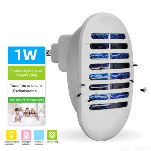 Mini Plug-in Electronic Mosquito Killer Lamp Electric Insect Trap Bug Zapper