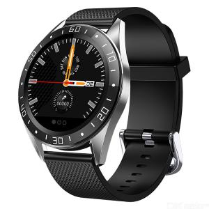 GT105 1.22 Inch Smartwatch Unisex Heart Rate Blood Pressure Monitor Smart Watch With Weather Push Music Control Call