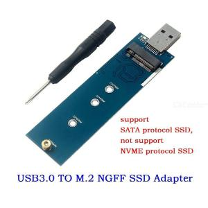 USB3.0 To M.2 SSD External PCBA Conveter Adapter