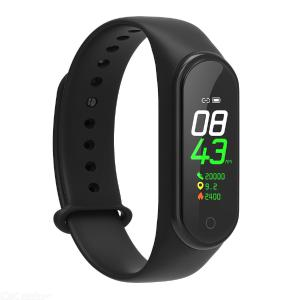 DMDG 0.96 Inch Color Screen Bluetooth Smart Watch Wristband with Heart Rate / Blood Pressure Monitoring / Pedometer