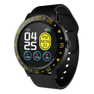 SDW01 1.3 Inch Smart Watch Smart Waterproof Fitness Tracker With Heart Rate Monitor Sports Mode Message Reminder IP67