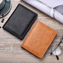 Portable-Leather-Wallet-Purse-Passport-ID-Card-Holder