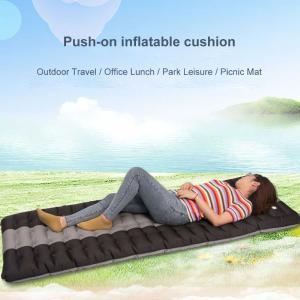 Air Sleeping Pad Inflatable Camping Mat For Backpacking Traveling Hiking 190 X 60 X 12cm