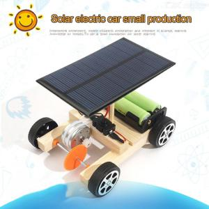 DIY STEM Toys Electric Solar Wireless RC Cars For Kids Teens
