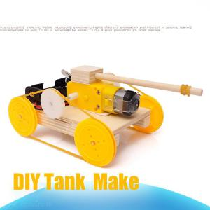 DIY STEM Toys Creative Electric Tank Science Kit For 8 – 13 Yrs