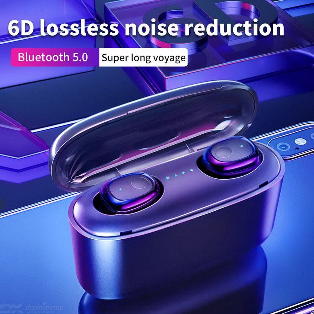 G5 TWS Mini Wireless Earbuds Bluetooth 5.0 6D Stereo Sport Earphones HD Call Waterproof With 3500 MAh Charger Box Mic