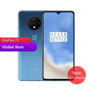 Global ROM OnePlus 7T Octa-Core 6.55 Inch 90Hz AMOLED Screen Smartphone With 8GB RAM 128GB/256GB ROM - US Plug