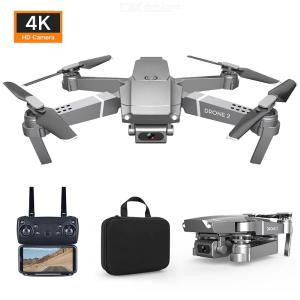 E68 RC Drone With Camera WiFi Quadcopter With One Key Takeoff Land Altitude Hold Gesture Voice Controls