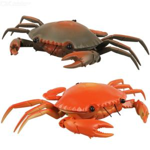 RC Crab Moving Remote Control Animal Prank Prop For Party