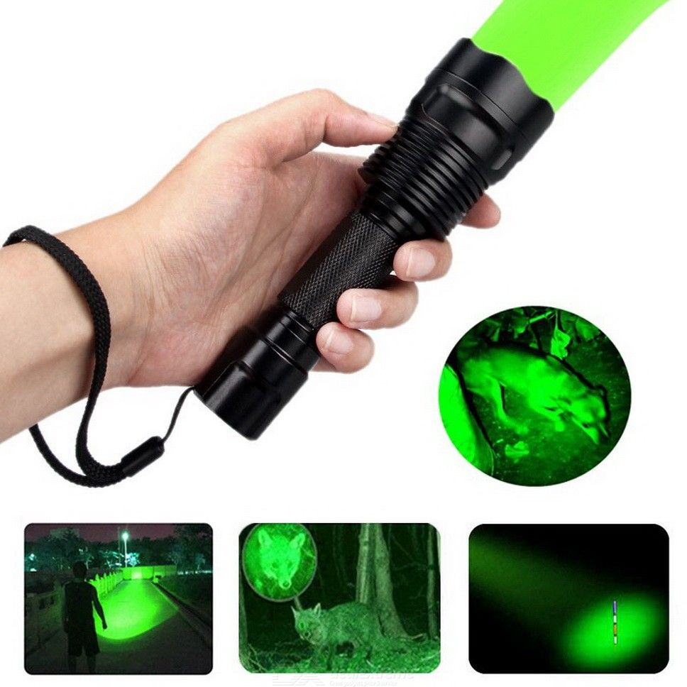Tactical Flashlight Waterproof Rechargeable 1000LM LED Torch Lantern Hunting Flashlight 18650 Battery Powered