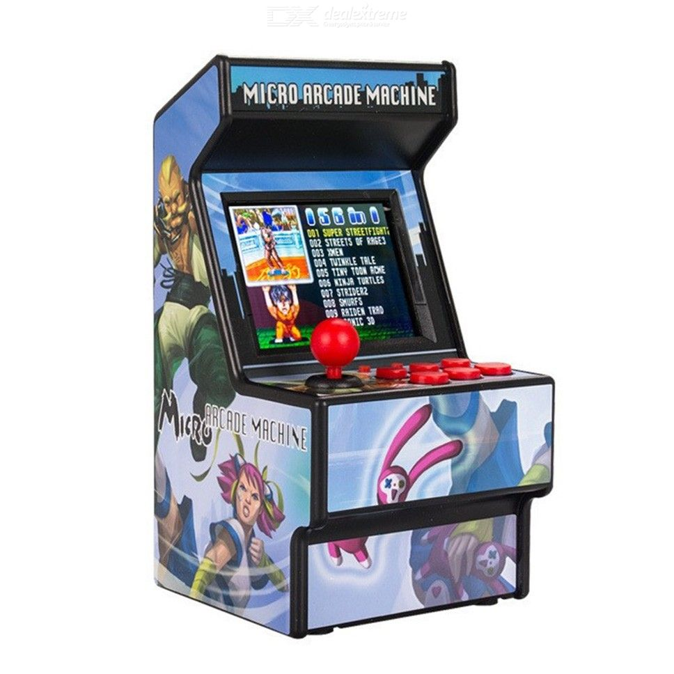 Mini Arcade 16-Bit Retro Handheld Game Player, Classic Children Game Console with Built-in 156 Games