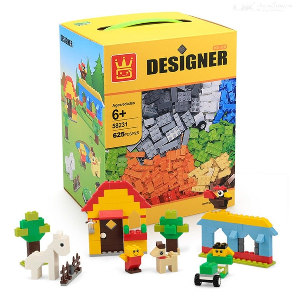 Creative Piecemeal Building Blocks Changeable Small Particle Childrens Educational Toys
