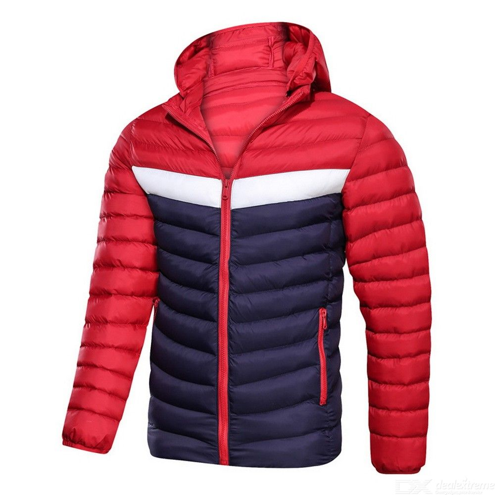 Winter Mens Cold-proof? Parka Casual Hooded Warm Coat